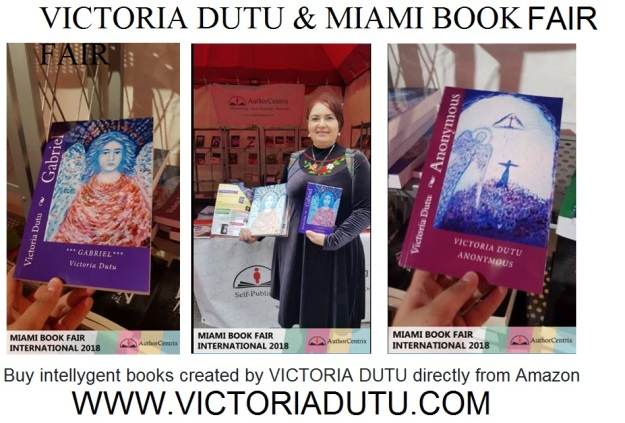 VICTORIA DUTU MIAMI BOOK FAIR