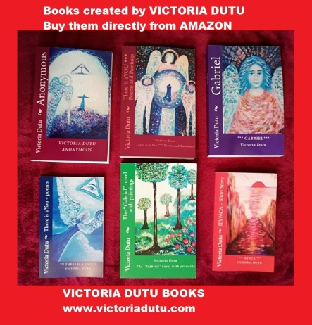 buy these books creted by VICTORIA DUTU-promo